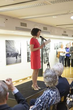 The exhibition was officially opened by Mrs Jenni Haukio, wife of the President of the Republic of Finland, on June 3, 2015. Photo by Anton Reenpää.