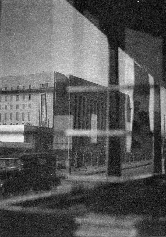 AHO & SOLDAN - Parliament building through the Post Office windows, 1930´s © JB